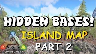 hidden bases | island map top 5 solo pvp base locations