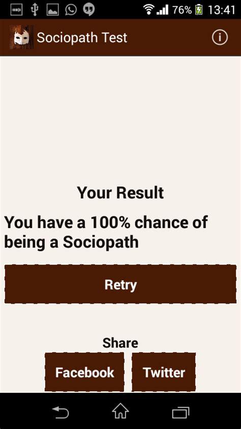 quiz is your a psychopath sociopath test programu za android kwenye play
