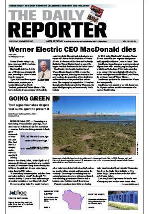 e edition – november 15, 2017 – the daily reporter – wi