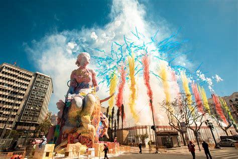 pichiavos monumental sculpture  falles celebration  valencia streetartnews streetartnews