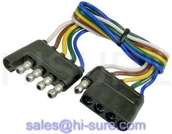 5 pin wiring harness trailer connector 5 pin wire