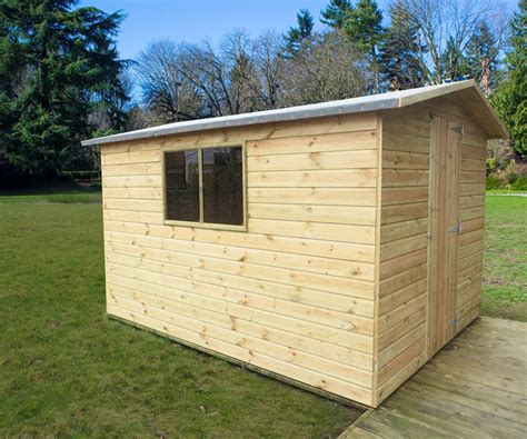 The Range Sheds by Value Range Garden Shed 2 4m Wide Apex Style
