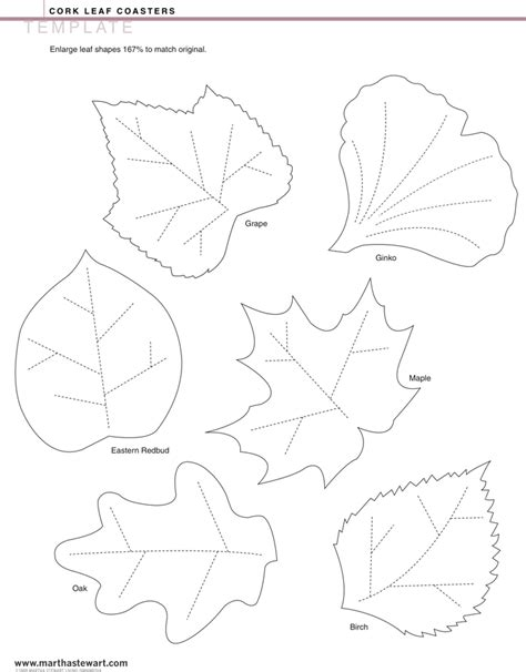 leaf template 1 for free formxls