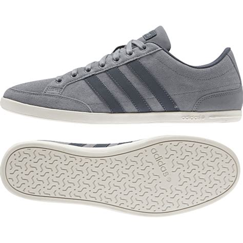 adidas caflaire f98432 grey mens casual shoe