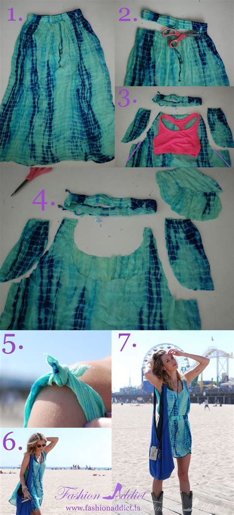 diy clothes crafts this year s coachella fashion the no sew slip dress