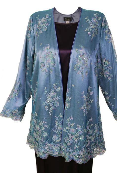 beaded evening jackets plus size plus size of gabi jacket beaded lace blue