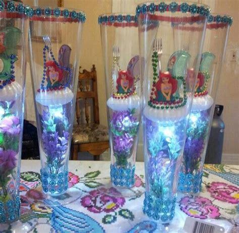 mermaid centerpiece my own centerpieces centerpieces mermaids and