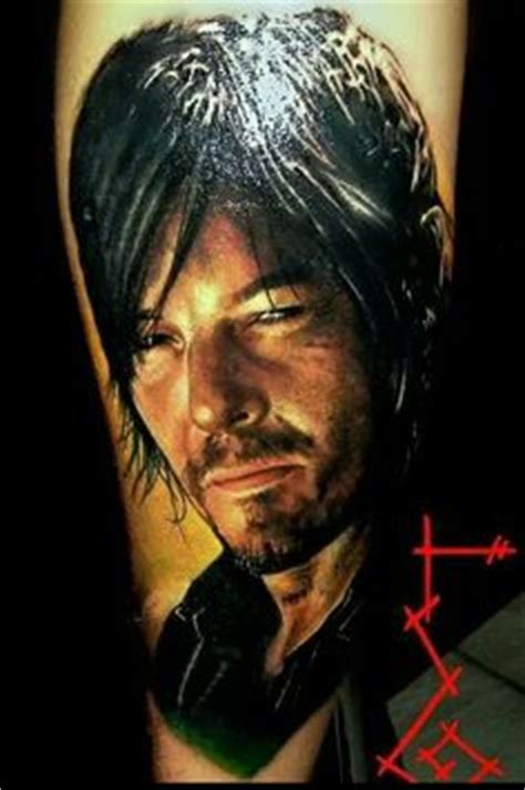 daryl dixon tattoo the walking dead on tattoos the