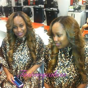 colored sew ins sew in side part hair hair inspiration