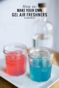 Gel Air Freshener How To Use How To Make Your Own Gel Air Fresheners Hellonatural Co