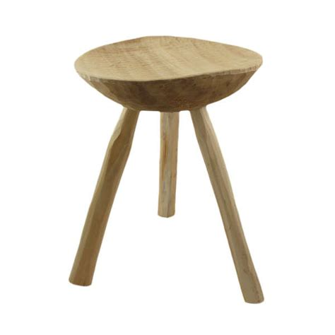 Handmade Wooden Stool - handmade minimalist seating wood stools