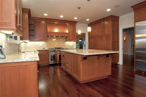 97 Dark Wood Floors With Cherry Cabinets Cherry Wood