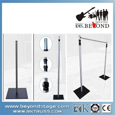 portable curtain stand portable stage curtain stand pipe and drape buy pipe and