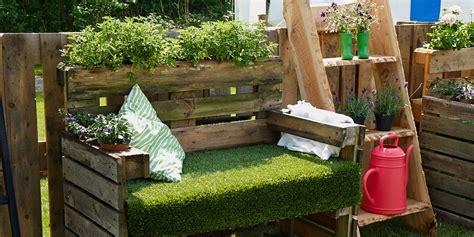 arredare giardino con bancali bancali di legno per arredare xm73 187 regardsdefemmes