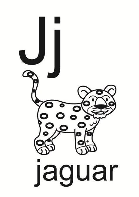 imagenes con palabras j dibujo para colorear j img 23677