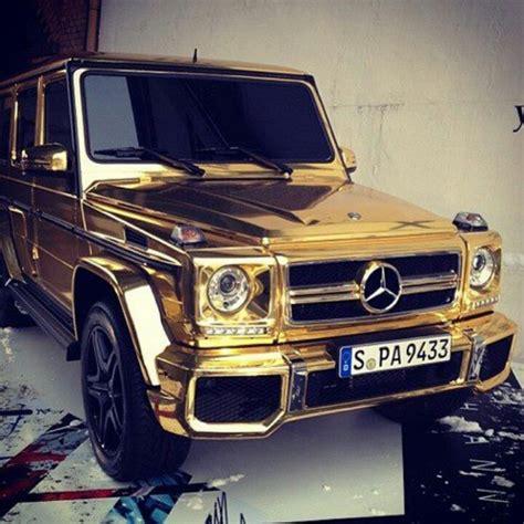golden trucks gold mercedes truck