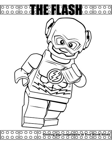 flash coloring pages coloring page the flash true bricks