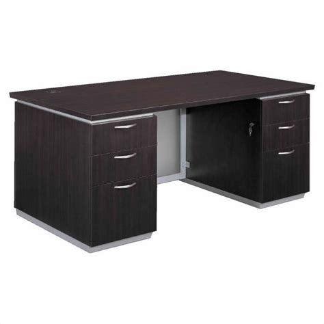Flexsteel Pimlico Laminate Executive 72 Quot Desk Assembled Assembled Office Desks