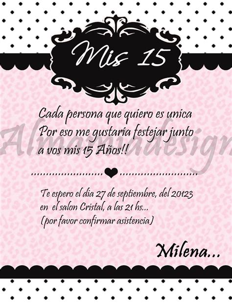 tarjetas on pinterest 15 anos wedding invitations and invitations tarjetas invitacion 15 a 241 os modernas 13 00 en