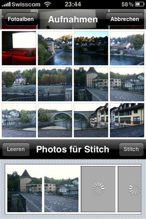 Fürs Auto by Iphone App Autostitch F 195 188 R Schnelle Panoramafotos Huwis