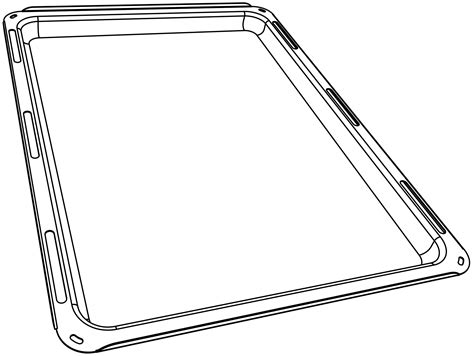 food tray coloring page oven accessories lacanche