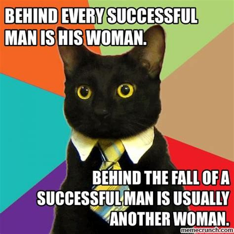 Business Cat Meme Generator - business cat on women
