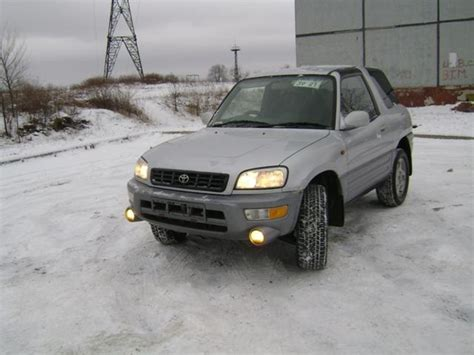 1998 Toyota Rav4 Soft Top For Sale 1998 Toyota Rav4 Pictures 2000cc For Sale