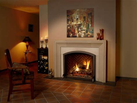 realistic gas fireplace fireplaces