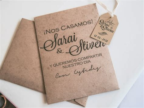invitaciones boda 20 centimos empapelarte papeler 237 a de boda ideas boda bodas mx