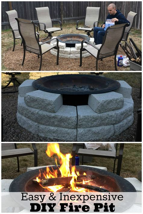 easy diy pit ideas pit ideas plus our own diy pit reveal fabulous