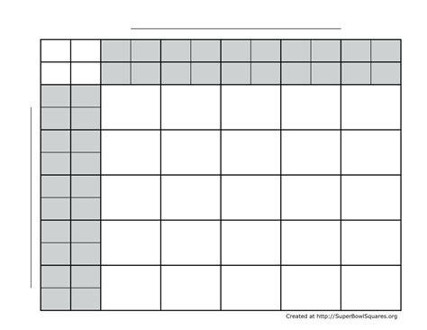 blank football field template template blank football template