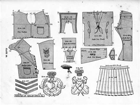 history pattern c 1898 sailor suit pattern free http www costumes org