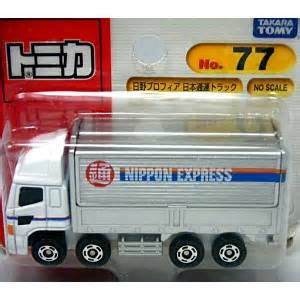 Tomica 77 Hino Provia Nippon Express Truck tomy 77 hino profia nippon express truck japan only blister global diecast direct