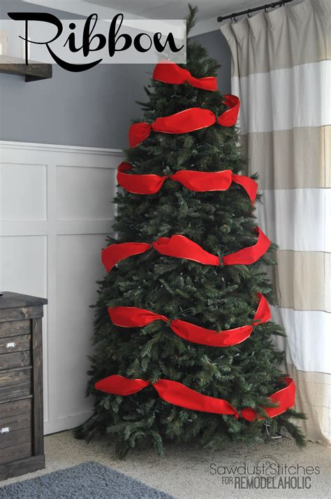 how to store decorated christmas tree remodelaholic how to decorate a tree a designer look from the dollar store