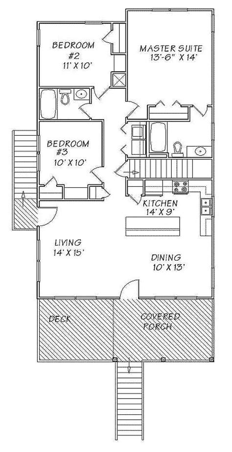 beach cottage floor plans 25 best ideas about beach house plans on pinterest