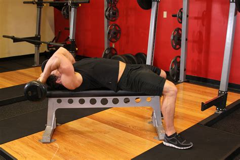 bench tricep extension lying close grip barbell triceps extension behind the head