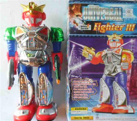 mainan robot putar lu jual mainan anak anak robot mainan the universal fighter 3