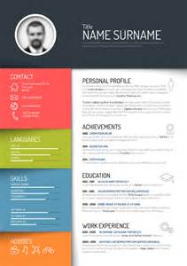 colorful resume template free free creative colorful resume design templates 2017 free