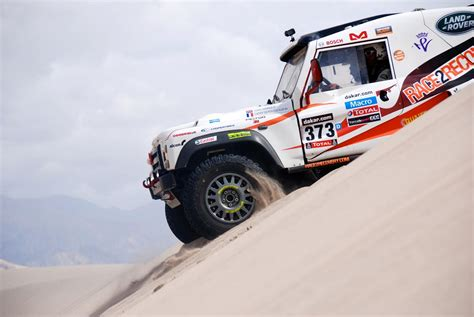 land rover dakar dakar rally race2recovery