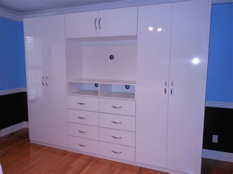 Closet Dresser Combo by Wardrobe Entertainment Center Combo White Gloss