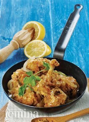 Sayap Ayam Segar sayap ayam saus lemon