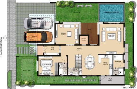 Villa Homes Floor Plans Villa Istanafloor Plans Villa Istana