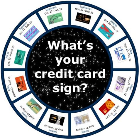 signs your is in what s your sign zodiac credit cards creditcards