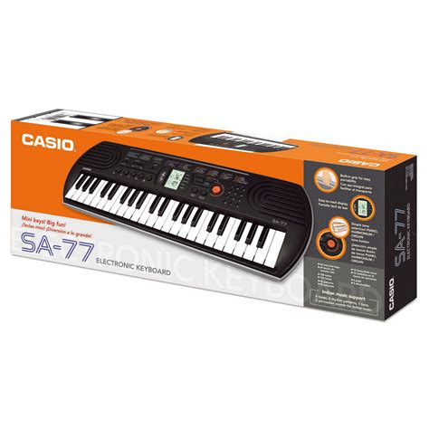 Casio Keyboard Mini Sa 77 buy casio sa 77 key portable keyboard in uae carrefour uae
