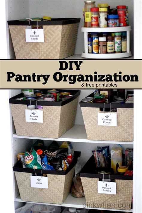 pantry organization page    blooming homestead