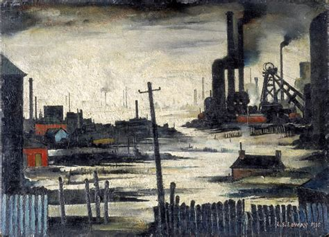 Industrial L by Lowry And The Painting Of Modern Tate