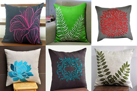 How To Design Pillow Covers - modern design f i n d s