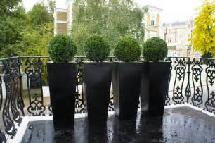 contemporary planters outdoor planters designer