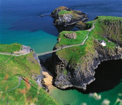 living on a boat northern ireland spectacular hanging bridge in northern ireland