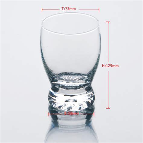 Cup Kaca piala kaca 153ml minum gelas cawan cawan kaca pada